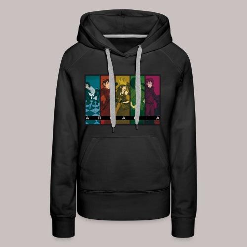 Sweat-shirt pour femme Arcadia - Sweat-shirt à capuche Premium pour femmes