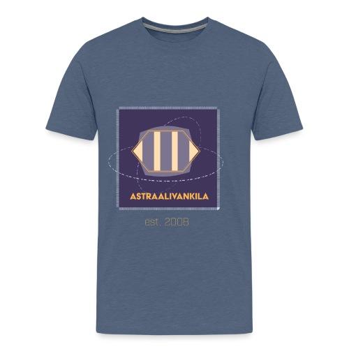 Purple Elegance - Miesten premium t-paita