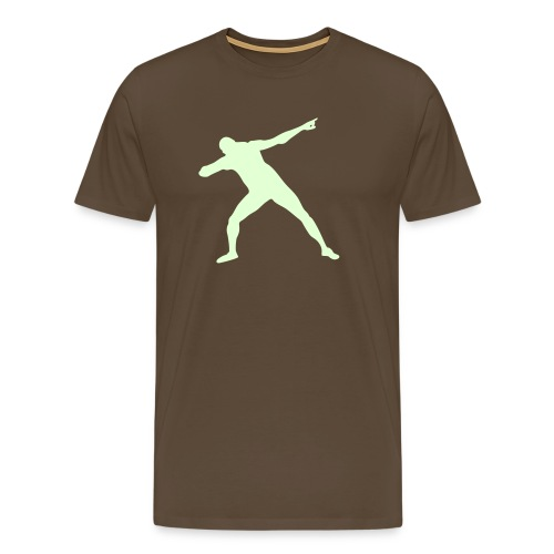 Get set Bolt - Men's Premium T-Shirt