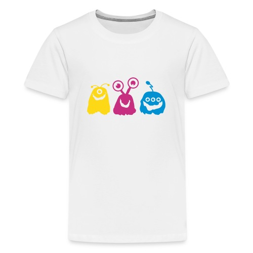 Tee shirt Premium Ado Nuréa : Petits monstres - T-shirt Premium Ado