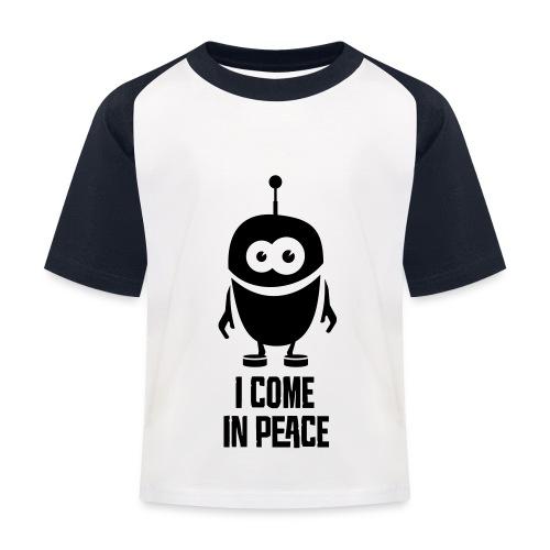 Tee shirt Baseball Enfant Nuréa : PEACE - T-shirt baseball Enfant