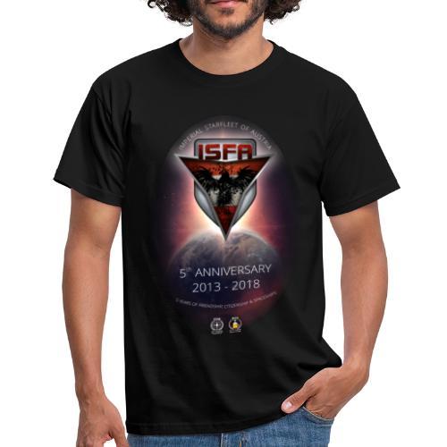 Anniversary Shirt - 5 Jahre ISFA - Männer T-Shirt