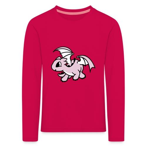 Tee shirt manches longues Premium Enfant Nuréa : Dragon  - T-shirt manches longues Premium Enfant