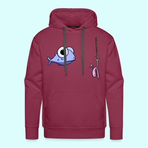 Fisch Hoodie für Männer - Männer Premium Hoodie
