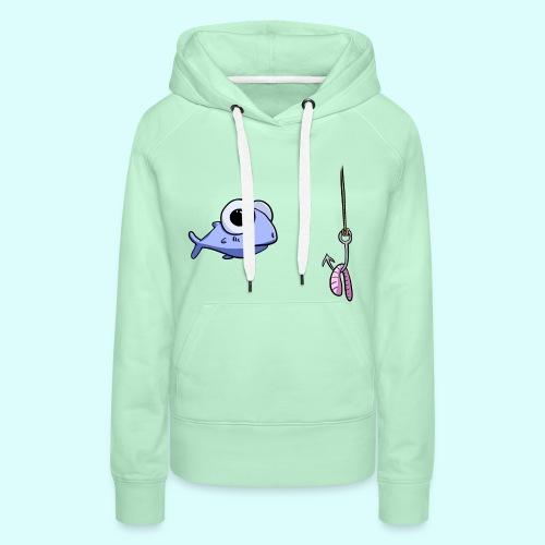 Fisch Hoodie für Frauen - Frauen Premium Hoodie