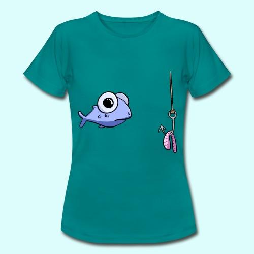 Fisch T-Shirt für Frauen - Frauen T-Shirt