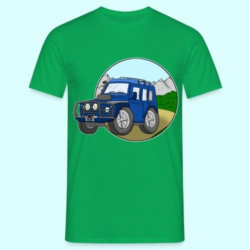 Geländewagen T-Shirt für Männer - Männer T-Shirt