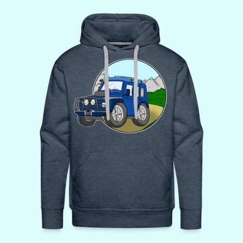 Geländewagen Hoodie für Männer - Männer Premium Hoodie