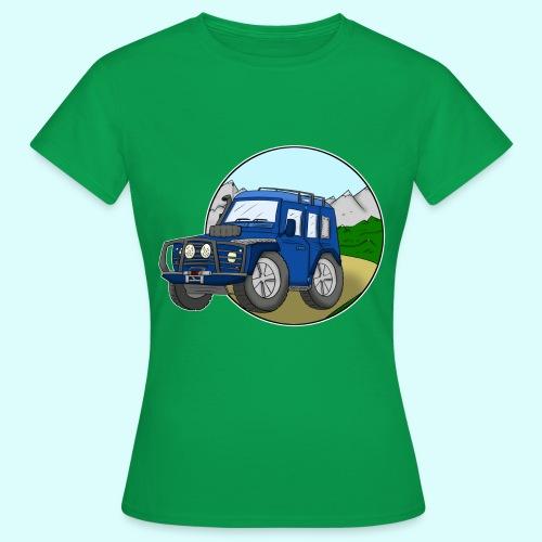 Geländewagen T-Shirt für Frauen - Frauen T-Shirt