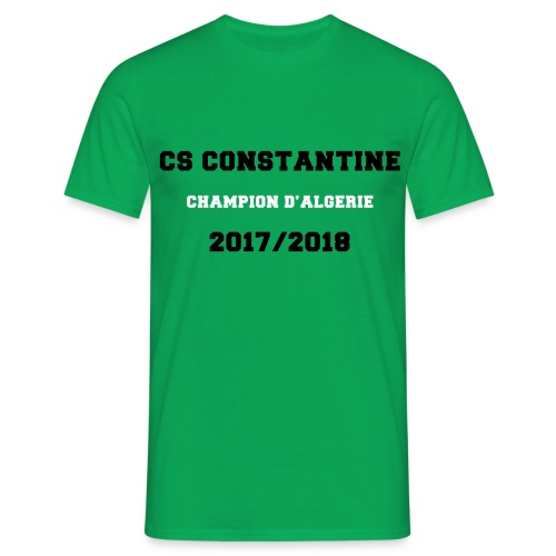 CSC Champion d'Algérie Vert - T-shirt Homme