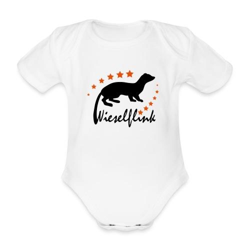 Wieselflink - Strampler, Kurzarm - Baby Bio-Kurzarm-Body