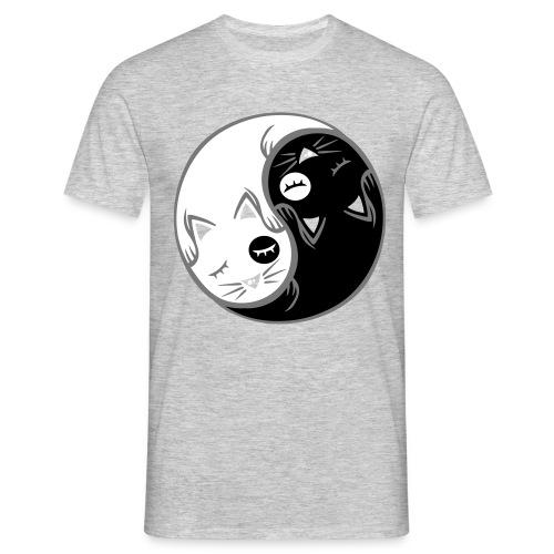 Chat yin yang - T-shirt Homme