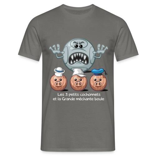 3 petits cochonnets - T-shirt Homme