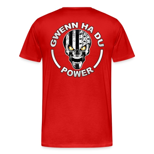 Gwenn Ha Du skull power - T-shirt Premium Homme