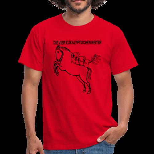 Die vier eukalyptischen Reiter - Männer T-Shirt