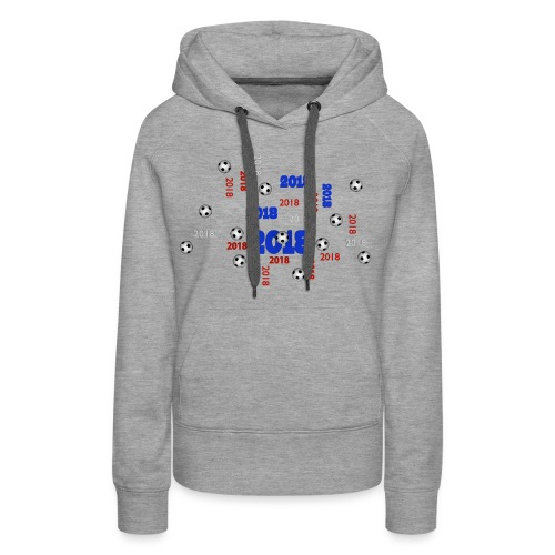 The Football Event of the year 2018 - Sweat-shirt à capuche Premium pour femmes