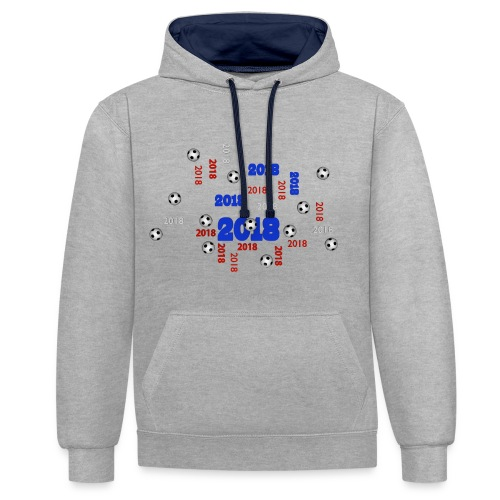 The Football Event of the year 2018 - Sweat-shirt contraste