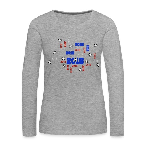 The Football Event of the year 2018 - T-shirt manches longues Premium Femme