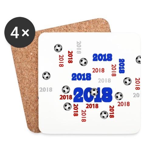 The Football Event of the year 2018 - Dessous de verre (lot de 4)