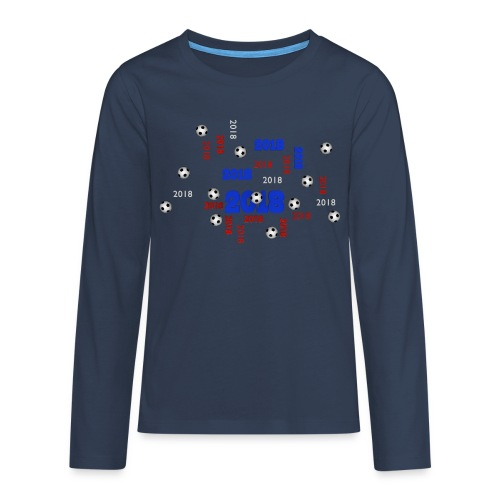 The Football Event of the year 2018 - T-shirt manches longues Premium Ado