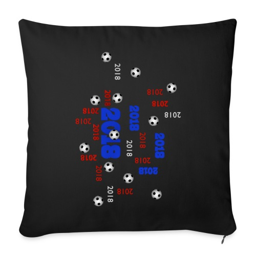 The Football Event of the year 2018 - Housse de coussin décorative 44x 44cm