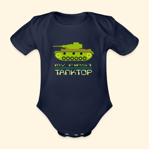 my first tanktop - Baby Bio-Kurzarm-Body