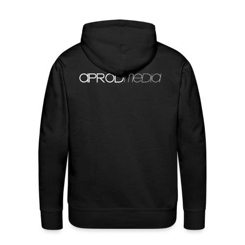 SWEAT APROD NOIR - Sweat-shirt à capuche Premium pour hommes