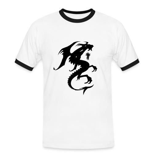 T-shirt - Kontrast-T-shirt herr