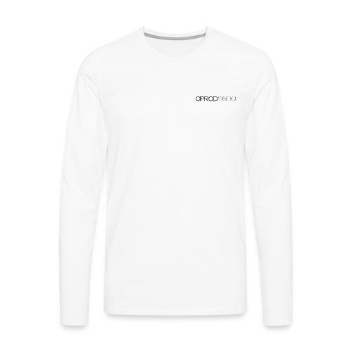T-SHIRT HOMME BLANC MANCHES LONGUES - T-shirt manches longues Premium Homme