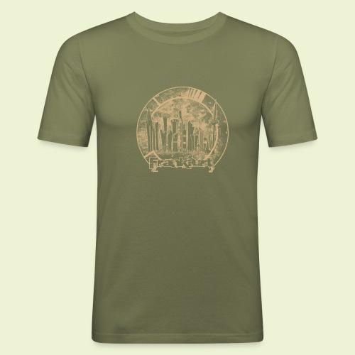 orbi FFM - Männer Slim Fit T-Shirt