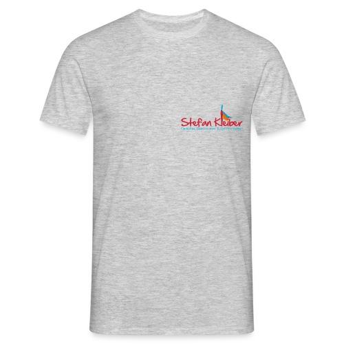 T-Shirt mit dezentem Stefan Kleiber-Logo - Männer T-Shirt