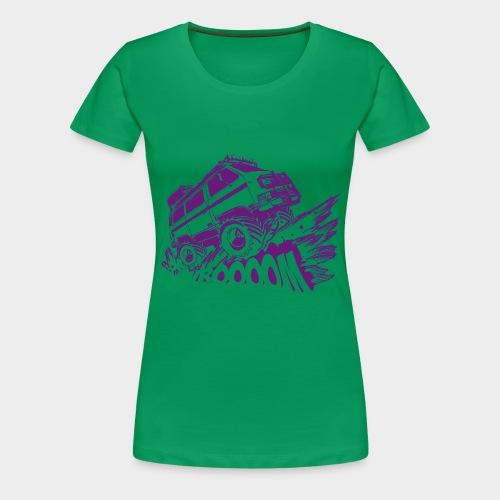 Sync Frauen  - Frauen Premium T-Shirt