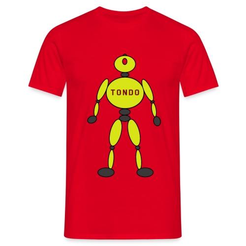 TONDO - YELLOW - Maglietta da uomo