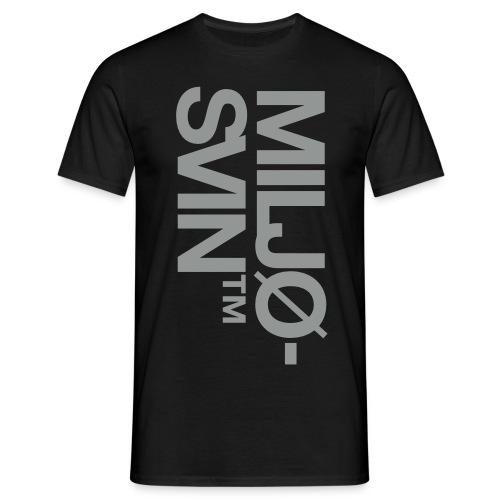 Miljøsvin (tm) - T-skjorte for menn