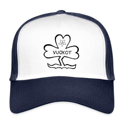 Lippalakki logolla - Trucker Cap