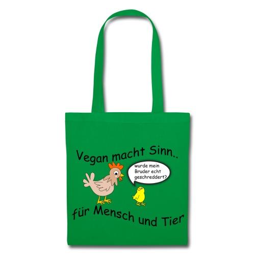 Vegan macht Sinn - Stoffbeutel