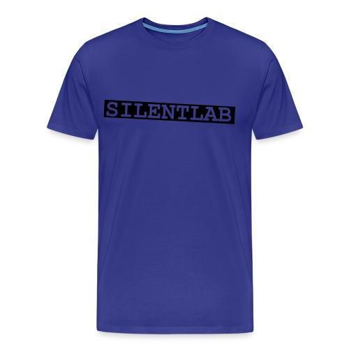 silentlab blue male t-shirt - Men's Premium T-Shirt