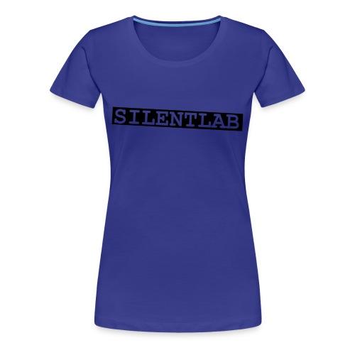 silentlab blue female t-shirt - Women's Premium T-Shirt