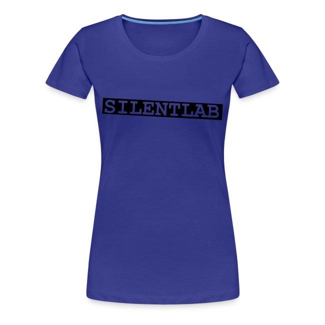 silentlab blue female t-shirt