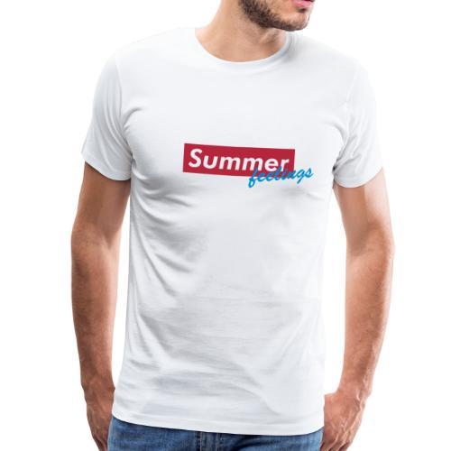 Summer feelings - Männer Premium T-Shirt