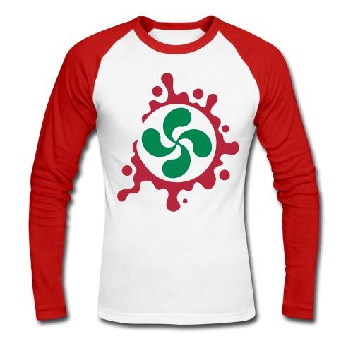 Croix Basque splash - T-shirt baseball manches longues Homme