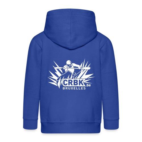 Veste à capuche enfant bleue - Veste à capuche Premium Enfant