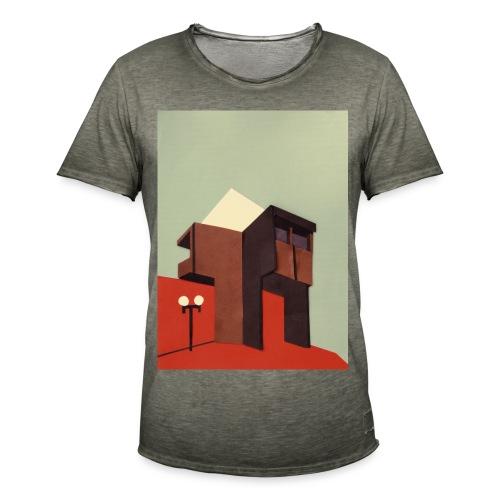 Sunny Brutalism - Männer Vintage T-Shirt