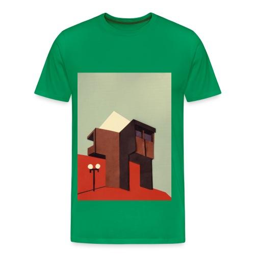 Sunny Brutalism - Männer Premium T-Shirt