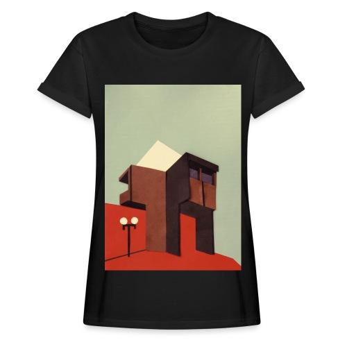 Sunny Brutalism - Frauen Oversize T-Shirt