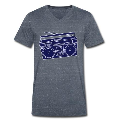 Ghettoblaster 2 - Männer Bio-T-Shirt mit V-Ausschnitt von Stanley & Stella