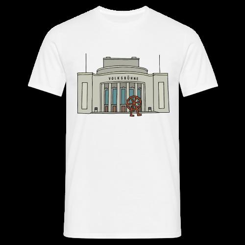 Volksbühne Berlin c - Mannen T-shirt