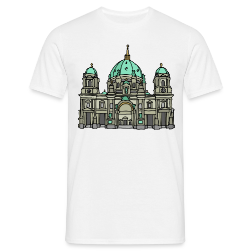 Berliner Dom  - Mannen T-shirt