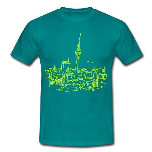 Berlin Panorama - Männer T-Shirt