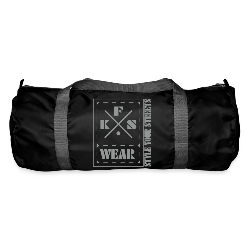 FKS-WEAR: Bag - 3X Logo - grey - Sporttasche